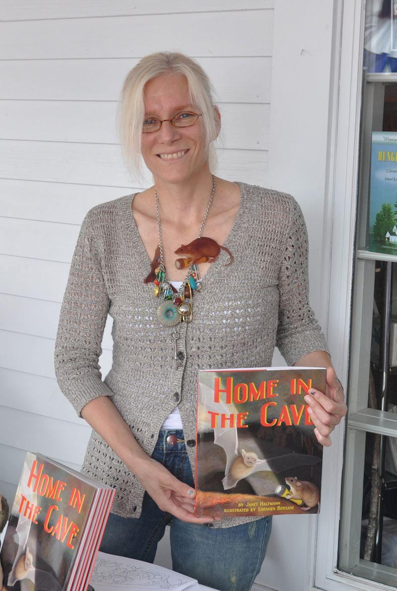 Shennen at Bayswater Books