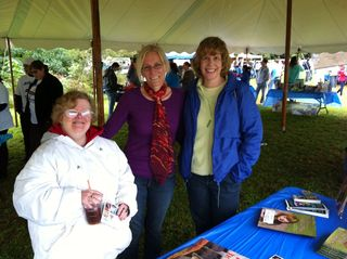 Holly, Shennen, and Nancy at South Shore Buddy Walk